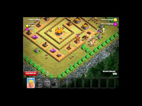 How to Win in Clash of Clans Fool's Gold