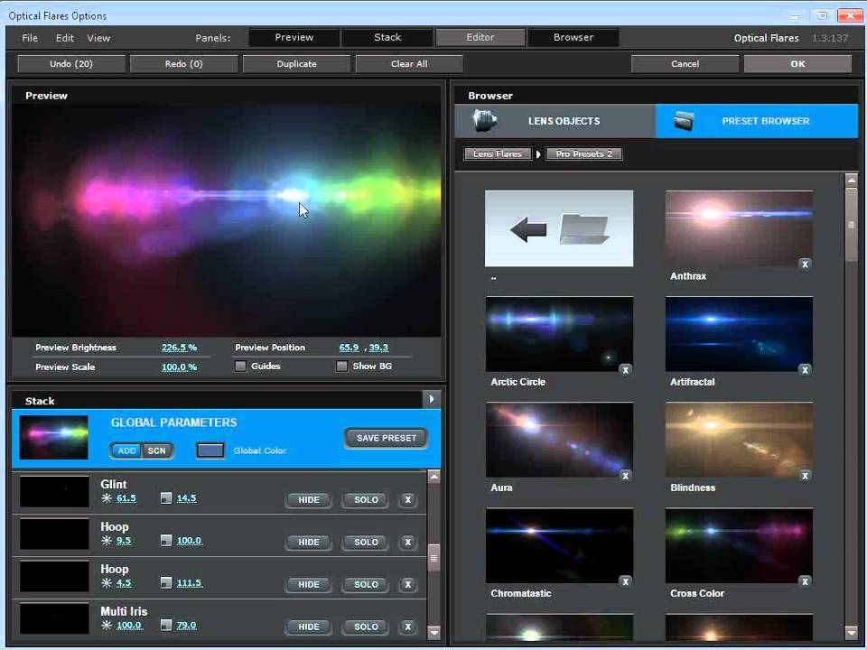 Optical flares after effects cc 2018 free