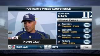 Kevin Cash -- Tampa Bay Rays vs. Toronto Blue Jays postgame 4/3/16