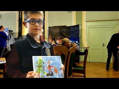 Świąteczna kartka z Kwidzyna