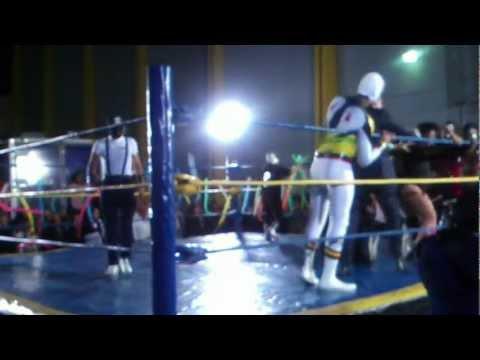 LuCha Libre con Rodolfo Jimenez en Buenas Noches America x TV Azteca