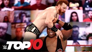 Top 10 Raw moments: WWE Top 10, Dec. 28, 2020