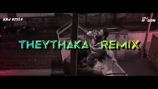 Theythaka Song Remix | Kudukku 2025 | DJ KRJ X VDJ ASWIN | New malayalam song | 2021