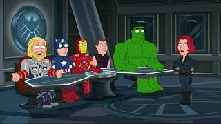 Family Guy - You're as useless as Black Widow is to the Avengers.