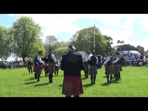 Tullylagan Pipe Band @ Ards & North Down Pipe Band Championships 2016