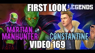 DC Legends Game Video 169 | First look at Martian Manhunter & Constantine