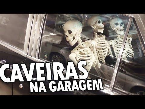 CAVEIRAS + MICTÓRIO BIZARRO + TEATRO e mais! - Vlog Ep.46