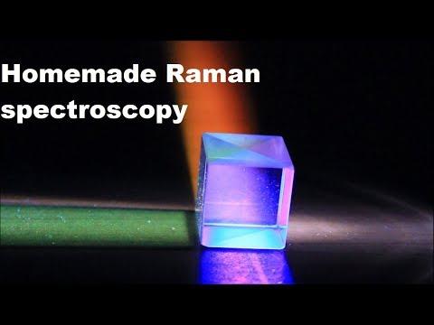 Homemade Raman Spectroscopy