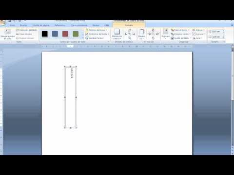 tutorial letras verticales en word :)