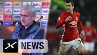 Jose mourinho: henrikh mkhitaryan nicht fit für 90 minuten | uefa europa league
