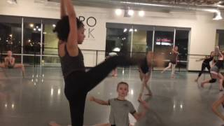 THE ROCK CENTER FOR DANCE - Las Vegas Rock Company dancers Improv to music inspired by LOVE- part 1
