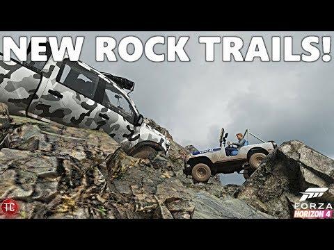 Forza Horizon 4: Multiplayer Off-Roading! ROCK CRAWLING TRAILS!? thumbnail