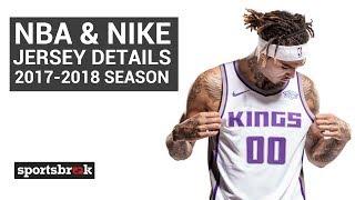 la carretera Borradura Egomanía  Nike and NBA Jersey Details: 2017-2018 Season - YouTube
