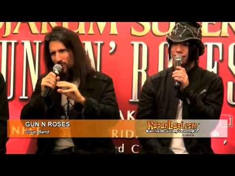 Guns N Roses Puji Fans dan Makanan Indonesia Mp3