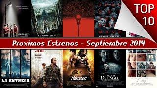 Proximos Estrenos De Cine, Septiembre 2014   Top 10