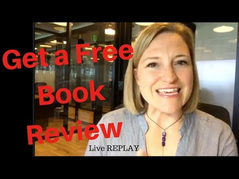Get a Free Book Review Live Q&A - Replay
