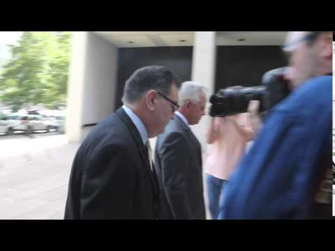 Danziger Bridge defendant Arthur Kaufman arrives at court