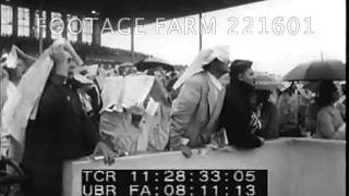 Grace Kelly w/father at Racetrack 221601-29 | Footage Farm