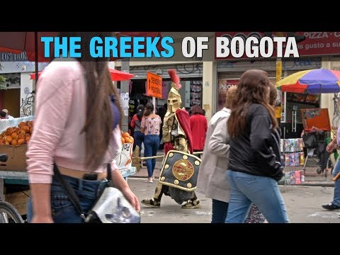 The Greeks of Bogota, Colombia