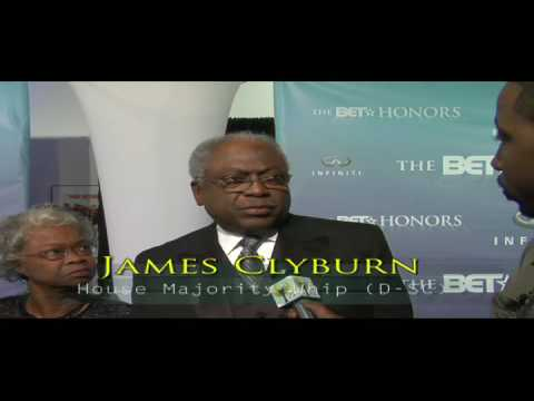 Presidential Inauguration, Interview w/ James Clyburn (D-SC)