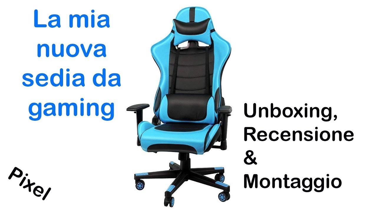 La mia nuova sedia da gaming | IntimaTe WM Heart ...