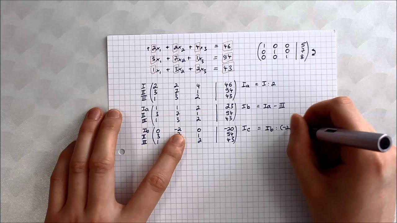 Matrix Zusammenfassung