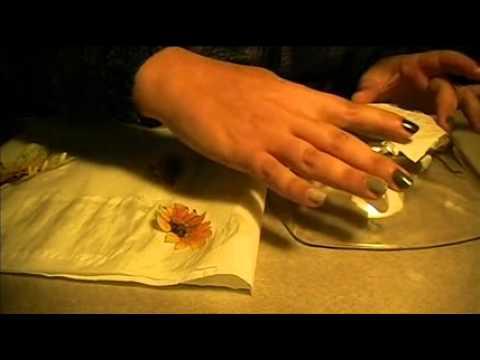 Tutorial decoupage su vetro youtube for Decoupage su vaso di vetro