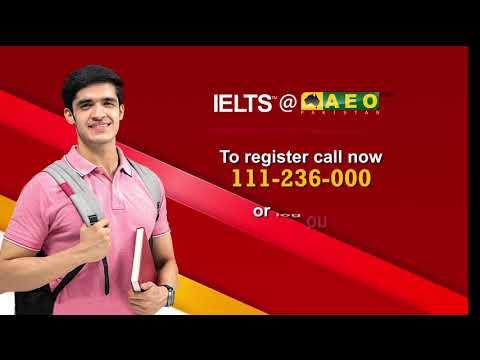 IELTS at AEO Pakistan!