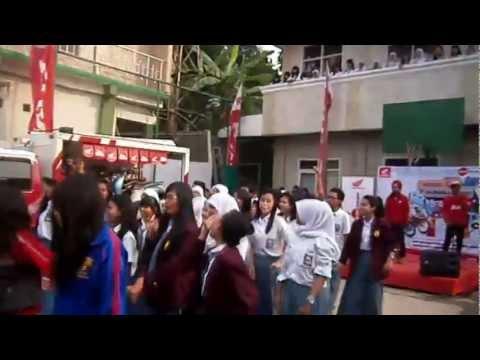Gangnam Style SMA SMK YAPAN Depok, Honda Schoollicious 2012