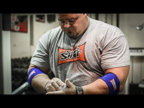 WSM Brian Shaw | Deadlift Training - 1067 lbs w/ Bands for 2 Reps
