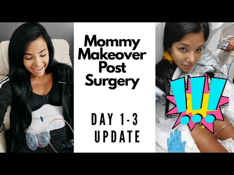 4 weeks 4 days Mommy makeover update - YouTube