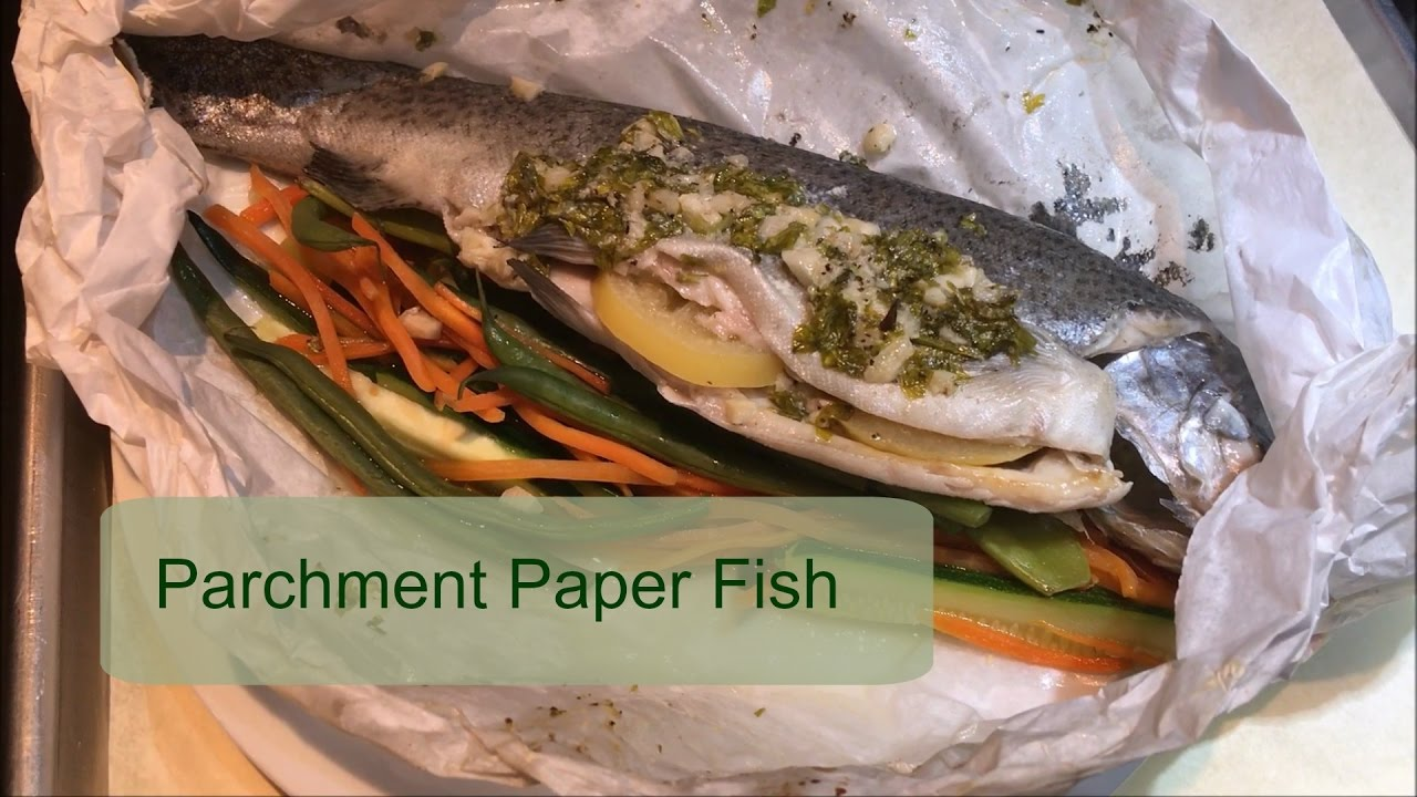 Recipes parchment paper fish food fish recipes for Cooking fish in parchment paper