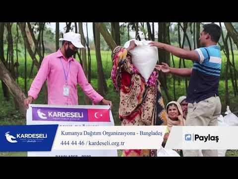 Bangladeş' de Kumanya Dağıtımı Organizasyonumuz Devam Ediyor!