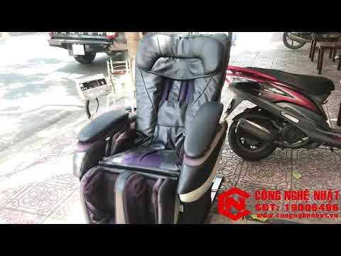 Ghế Massage nội địa Nhật Bản National EP3510 màu đen 2nd 98% massage toàn thân