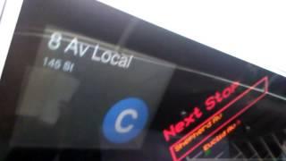 Euclid Avenue Bound R160A-1 (C) Train Cab Ride.