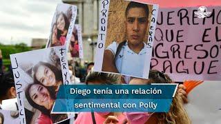 De acuerdo a los hechos asentados en la carpeta de investigación, Diego Armando Helguera amenazó de muerte a Polly Olivares y a Fernanda Cuadra antes de agredirlas