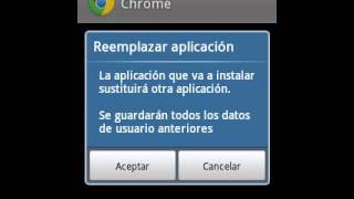 Como descargar google chrome para samsung galaxy y