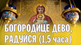 Молитва Богородице Дево Радуйся Валаам Prayer Choir Of The Brethren Of Valaam Mo