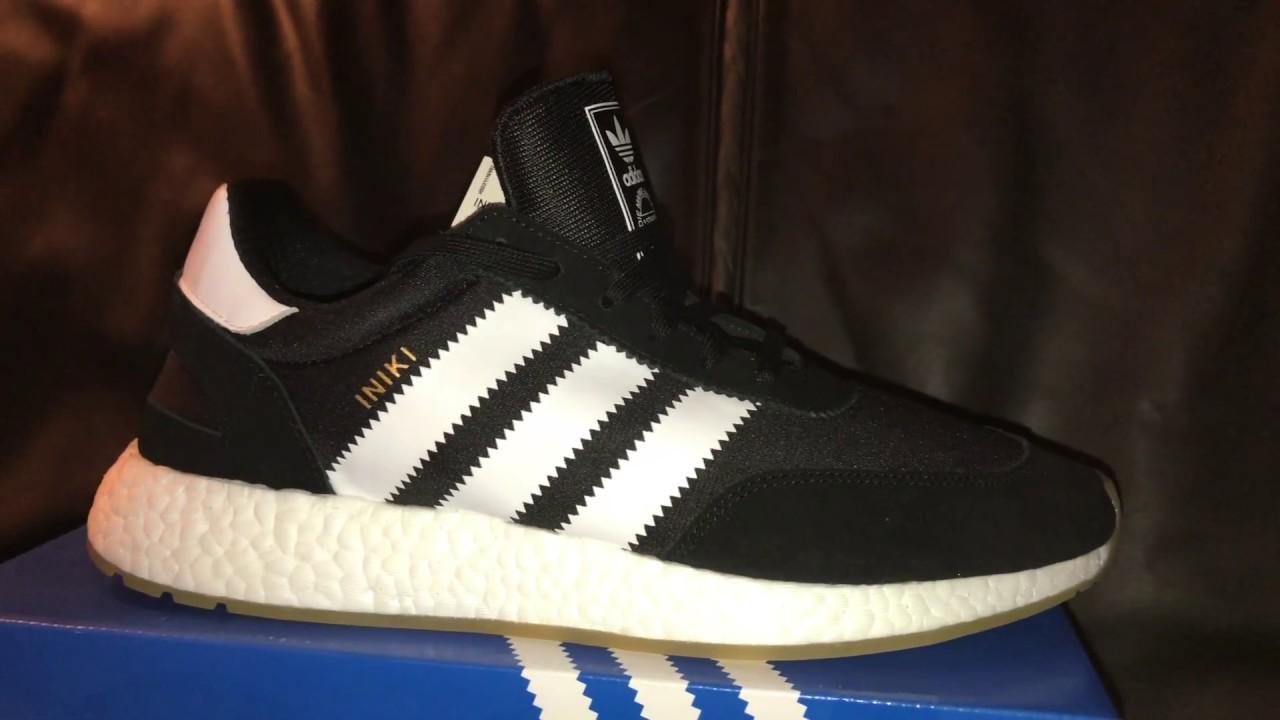 size 40 5d18a b92f2 adidas Iniki Runner Black White Unboxing