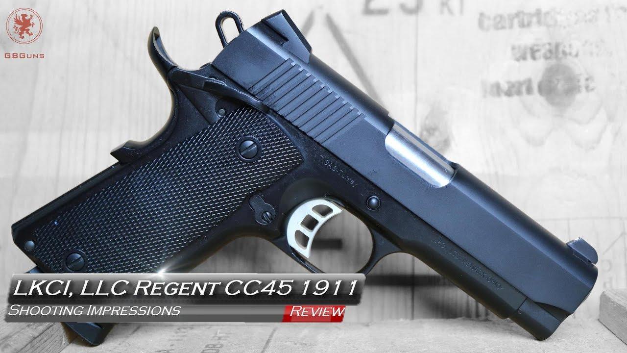 Tisas Regent CC45 Shooting Impressions - Graham Baates