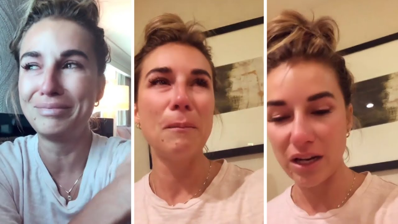 Jessie James Decker cries after reading comments about weight