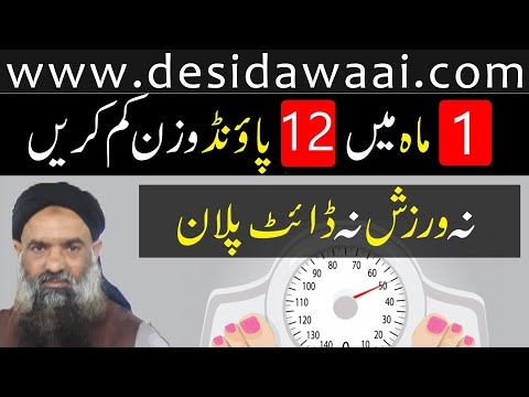 how to lose weight fast dr muhammad sharafat ali health tips | #12 #PoundWeightLose | Home Remedy