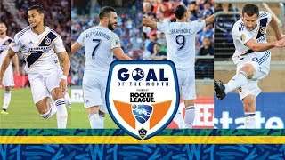 Vote Now! LA Galaxy June Goal of the Month | Presented by Rocket League
