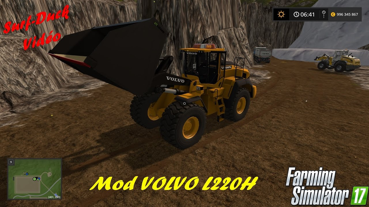 Fs17 Mod Chargeuse Volvo L220h Youtube