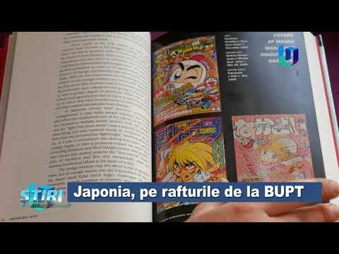 TeleU: Japonia, pe rafturile de la UPT