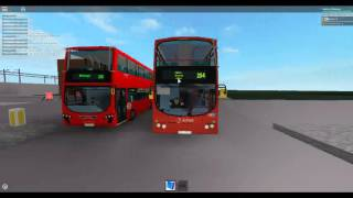 Roblox London Hackney & Limehouse bus Simulator Doing Route 254 New Extension to Three Colts Lane