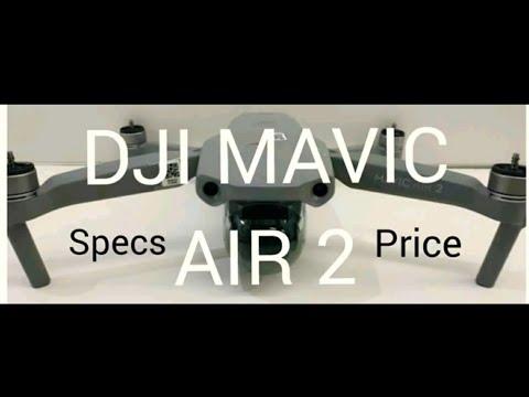 DJI MAVIC AIR 2 SPECS AND PRICE