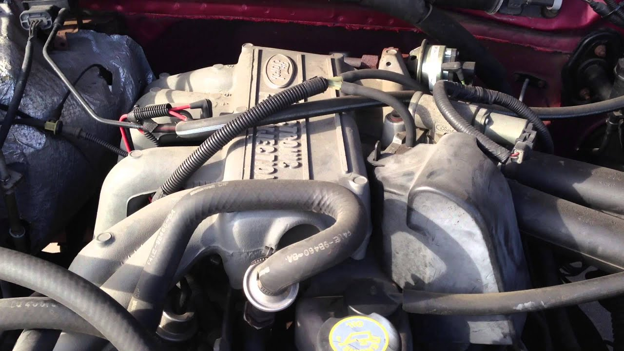 Ford 49l in line 6 cylider engine  YouTube