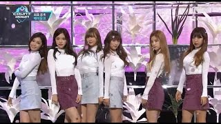 Apink「Only one」(2016年9月29日放送「M COUNTDOWN」)