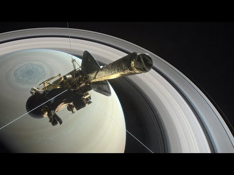 Cassini's final mission: death plunge into Saturn's rings